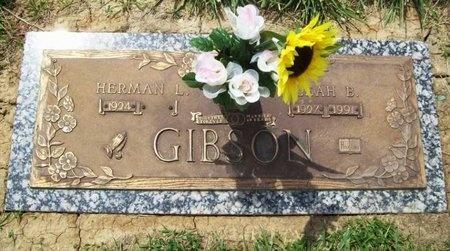 GIBSON, LEAH B. - Franklin County, Missouri | LEAH B. GIBSON - Missouri Gravestone Photos