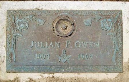 OWEN, JULIAN F. - Franklin County, Missouri | JULIAN F. OWEN - Missouri Gravestone Photos