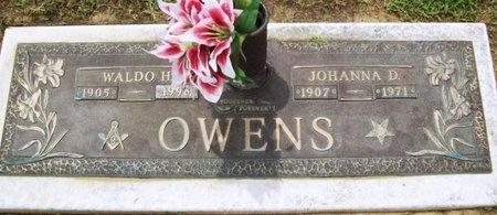 OWENS, WALDO H. - Franklin County, Missouri | WALDO H. OWENS - Missouri Gravestone Photos
