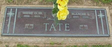 TATE, BLANCHE L. - Franklin County, Missouri | BLANCHE L. TATE - Missouri Gravestone Photos