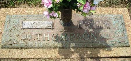 THOMPSON, VINITA E. - Franklin County, Missouri   VINITA E. THOMPSON - Missouri Gravestone Photos