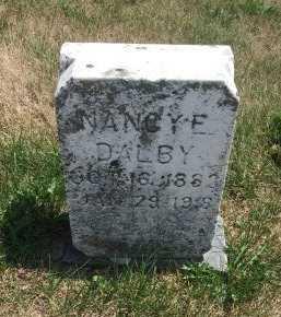 DALBY, NANCY ELLEN - Gentry County, Missouri | NANCY ELLEN DALBY - Missouri Gravestone Photos