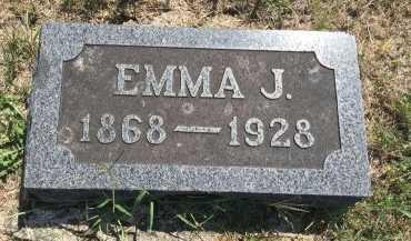 EDSON, EMMA JANE - Gentry County, Missouri | EMMA JANE EDSON - Missouri Gravestone Photos
