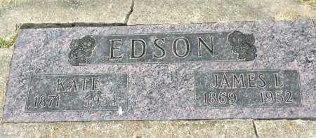 EDSON, JAMES LUCAS - Gentry County, Missouri | JAMES LUCAS EDSON - Missouri Gravestone Photos