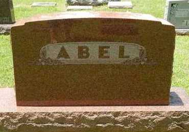 ABEL, FAMILY STONE - Greene County, Missouri | FAMILY STONE ABEL - Missouri Gravestone Photos
