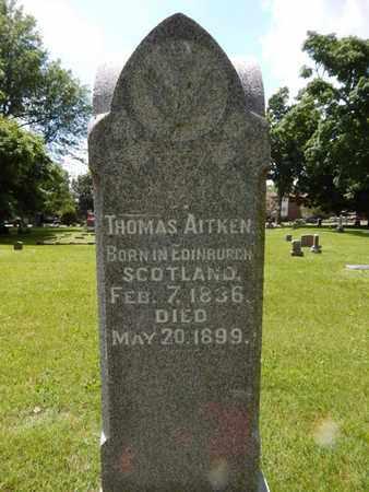 AITKEN, THOMAS - Greene County, Missouri | THOMAS AITKEN - Missouri Gravestone Photos