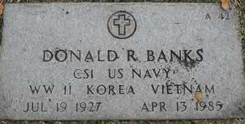 BANKS, DONALD R - Greene County, Missouri | DONALD R BANKS - Missouri Gravestone Photos
