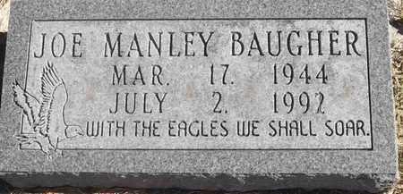BAUGHER, JOE MANLEY - Greene County, Missouri | JOE MANLEY BAUGHER - Missouri Gravestone Photos