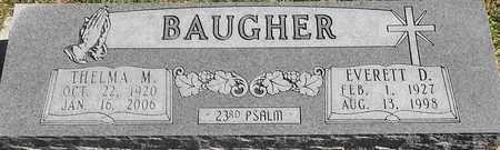 BAUGHER, EVERETT D - Greene County, Missouri   EVERETT D BAUGHER - Missouri Gravestone Photos