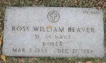 BEAVER, ROSS WILLIAM - Greene County, Missouri | ROSS WILLIAM BEAVER - Missouri Gravestone Photos