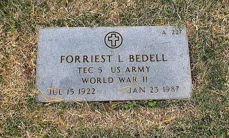 BEDELL, FORRIEST L  VETERAN WWII - Greene County, Missouri | FORRIEST L  VETERAN WWII BEDELL - Missouri Gravestone Photos