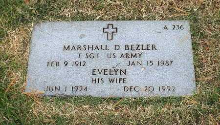 BEZLER, EVELYN - Greene County, Missouri   EVELYN BEZLER - Missouri Gravestone Photos
