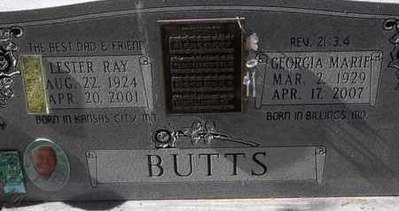 BUTT, GEORGIA MARIE - Greene County, Missouri | GEORGIA MARIE BUTT - Missouri Gravestone Photos