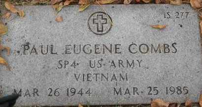 COMBS, PAUL EUGENE - Greene County, Missouri   PAUL EUGENE COMBS - Missouri Gravestone Photos