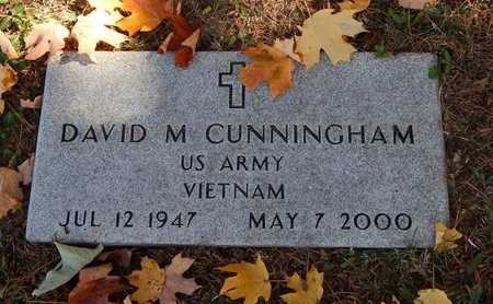 CUNNINGHAM, DAVID M (VETERAN VIET) - Greene County, Missouri | DAVID M (VETERAN VIET) CUNNINGHAM - Missouri Gravestone Photos