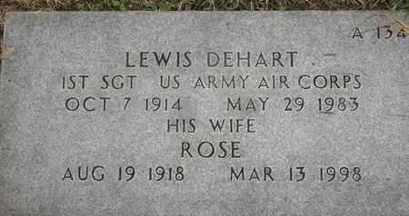 DEHART, ROSE - Greene County, Missouri | ROSE DEHART - Missouri Gravestone Photos