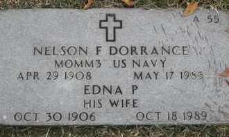 DORRANCE, EDNA P - Greene County, Missouri | EDNA P DORRANCE - Missouri Gravestone Photos