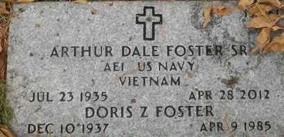 FOSTER, SR, ARTHUR DALE - Greene County, Missouri | ARTHUR DALE FOSTER, SR - Missouri Gravestone Photos