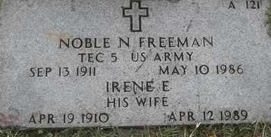 FREEMAN, NOBLE N - Greene County, Missouri | NOBLE N FREEMAN - Missouri Gravestone Photos