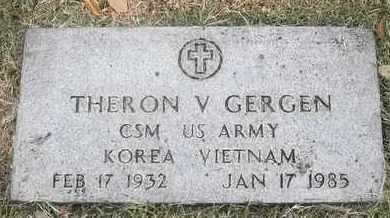 GERGEN, THERON V - Greene County, Missouri | THERON V GERGEN - Missouri Gravestone Photos