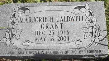 GRANT, MARJORIE H - Greene County, Missouri | MARJORIE H GRANT - Missouri Gravestone Photos