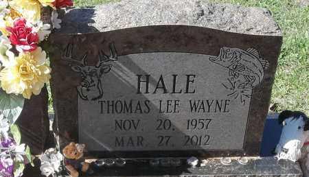 HALE, THOMAS LEE WAYNE - Greene County, Missouri | THOMAS LEE WAYNE HALE - Missouri Gravestone Photos