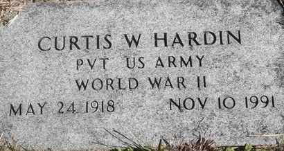 HARDIN, CURTIS W - Greene County, Missouri | CURTIS W HARDIN - Missouri Gravestone Photos