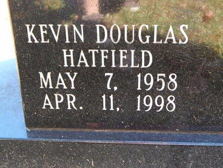 HATFIELD, KEVIN DOUGLAS (CLOSE-UP) - Greene County, Missouri | KEVIN DOUGLAS (CLOSE-UP) HATFIELD - Missouri Gravestone Photos