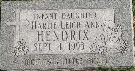 HENDRIX, HARLIE LEIGH ANN - Greene County, Missouri   HARLIE LEIGH ANN HENDRIX - Missouri Gravestone Photos