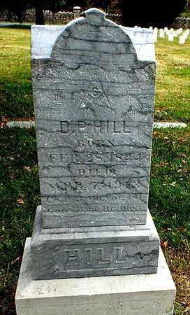 HILL, DANIEL PATTON - Greene County, Missouri   DANIEL PATTON HILL - Missouri Gravestone Photos