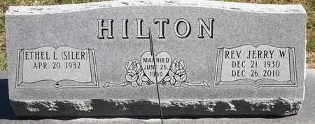 HILTON, JERRY W - Greene County, Missouri   JERRY W HILTON - Missouri Gravestone Photos