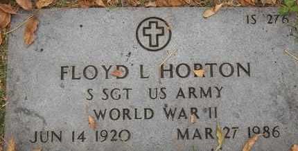 HORTON, FLOYD L - Greene County, Missouri | FLOYD L HORTON - Missouri Gravestone Photos