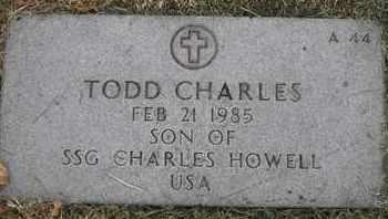 HOWELL, TODD CHARLES - Greene County, Missouri   TODD CHARLES HOWELL - Missouri Gravestone Photos