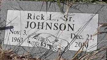 JOHNSON, SR, RICK L - Greene County, Missouri | RICK L JOHNSON, SR - Missouri Gravestone Photos