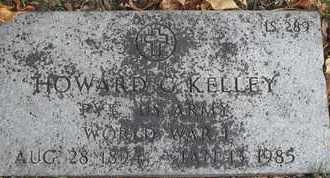 KELLEY, HOWARD C - Greene County, Missouri   HOWARD C KELLEY - Missouri Gravestone Photos