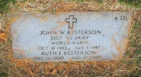 KESTERSON, RUTH E - Greene County, Missouri | RUTH E KESTERSON - Missouri Gravestone Photos