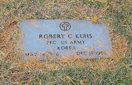 KUHS, ROBERT C  VETERAN KOREA - Greene County, Missouri | ROBERT C  VETERAN KOREA KUHS - Missouri Gravestone Photos