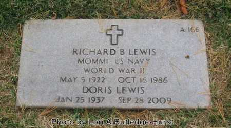 LEWIS, RICHARD B  VETERAN WWII - Greene County, Missouri | RICHARD B  VETERAN WWII LEWIS - Missouri Gravestone Photos