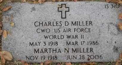 MILLER, MARTHA N - Greene County, Missouri | MARTHA N MILLER - Missouri Gravestone Photos