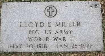 MILLER, LLOYD E - Greene County, Missouri | LLOYD E MILLER - Missouri Gravestone Photos