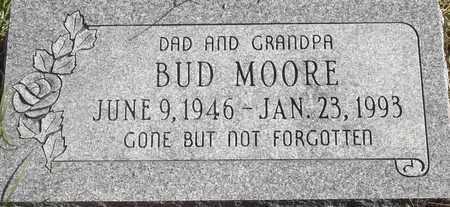 MOORE, BUD - Greene County, Missouri | BUD MOORE - Missouri Gravestone Photos