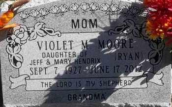MOORE, VIOLET M - Greene County, Missouri   VIOLET M MOORE - Missouri Gravestone Photos