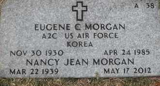 MORGAN, EUGENE C - Greene County, Missouri | EUGENE C MORGAN - Missouri Gravestone Photos