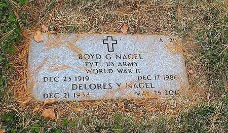 NAGEL, DELORES Y - Greene County, Missouri | DELORES Y NAGEL - Missouri Gravestone Photos