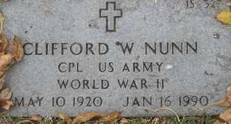 NUNN, CLIFFORD - Greene County, Missouri   CLIFFORD NUNN - Missouri Gravestone Photos