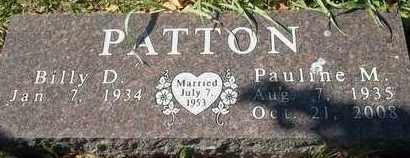 PATTON, PAULINE M - Greene County, Missouri | PAULINE M PATTON - Missouri Gravestone Photos