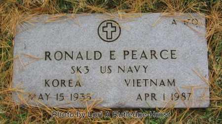 PEARCE, RONALD E  VETERAN 2 WARS - Greene County, Missouri | RONALD E  VETERAN 2 WARS PEARCE - Missouri Gravestone Photos