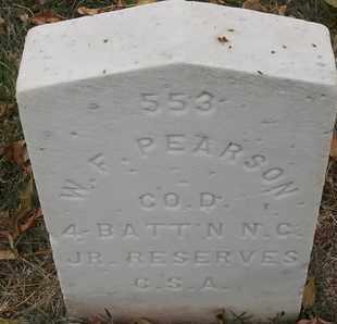 PEARSON, W F - Greene County, Missouri | W F PEARSON - Missouri Gravestone Photos