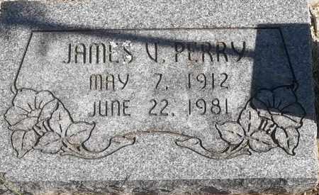 PERRY, JAMES V - Greene County, Missouri | JAMES V PERRY - Missouri Gravestone Photos