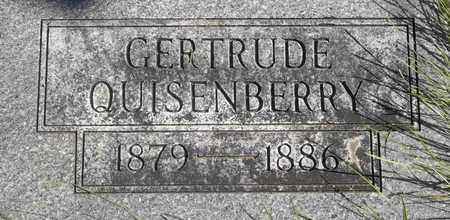 QUISENBERRY, GERTRUDE - Greene County, Missouri | GERTRUDE QUISENBERRY - Missouri Gravestone Photos